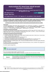 Abc - Autovettura - Modello nd Edizione 01-01-2019 [48P]