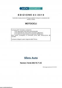 Abc - Motocicli - Modello nd Edizione 01-03-2019 [46P]