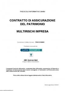 Abc - Multirischi Impresa Convenzione 17000121000006 - Modello nd Edizione 31-05-2017 [73P]