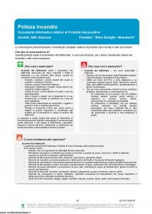 Abc - Sfera Famiglia Mutuario E Dip Aggiuntivo Danni - Modello nd Edizione 01-10-2018 [29P]