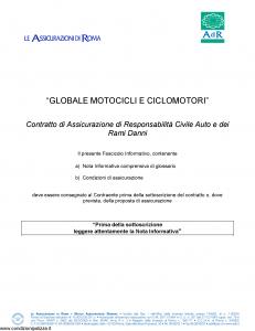 Adir - Globale Motocicli E Ciclomotori - Modello pol.02 Edizione 08-2017 [76P]