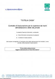 Adir - Tutela Casa - Modello nd Edizione 03-2016 [42P]