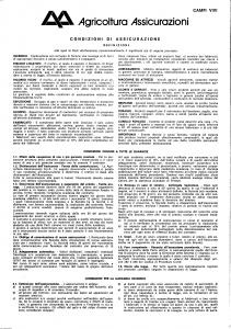 Agricoltura - Campi Vivi - Modello 2000-01 Edizione nd [SCAN] [4P]