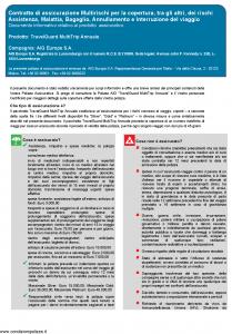 Aig Europe - Travelguard Multitrip Annuale - Modello nd Edizione 01-01-2019 [27P]