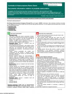 Aioi Nissay Dowa - Furto E Incendio Toyota Assicurazioni - Modello nd Edizione 01-01-2019 [49P]