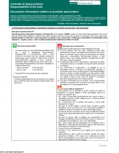 Aioi Nissay Dowa - Rca Connected Autocarri Fino A 60 Quintali - Modello nd Edizione 01-01-2019 [45P]