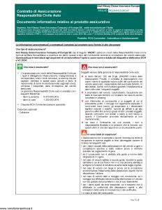 Aioi Nissay Dowa - Rca Connected Autovetture E Autotassametri - Modello nd Edizione 01-01-2019 [41P]