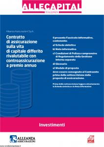 Alleanza Assicurazioni - Allecapital Investimenti - Modello 10303684 Edizione 03-2009 [40P]