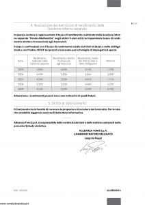 Alleanza Assicurazioni - Allerendita Previdenza - Modello 10303682 Edizione 03-2010 [44P]