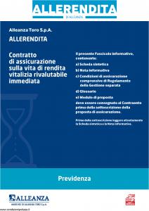 Alleanza Assicurazioni - Allerendita Previdenza - Modello 10303682 Edizione 05-2011 [41P]