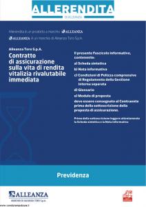 Alleanza Assicurazioni - Allerendita Previdenza - Modello 10303682 Edizione 09-2009 [44P]