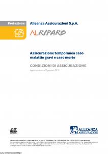 Alleanza Assicurazioni - Alriparo - Modello 10317123 Edizione 01-01-2019 [11P]