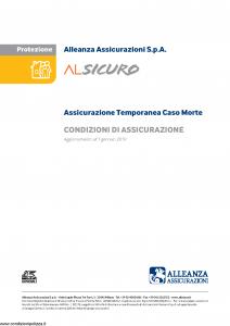 Alleanza Assicurazioni - Alsicuro Protezione - Modello 11400626 Edizione 01-01-2019 [7P]
