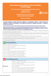 Alleanza Assicurazioni - Semplice Con Alleanza Dip Aggiuntivo Danni - Modello nd Edizione 01-01-2019 [5P]