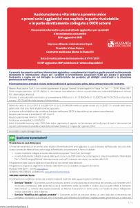 Alleanza Assicurazioni - Valore Futuro Dip Aggiuntivo Ibip - Modello nd Edizione 01-01-2019 [5P]