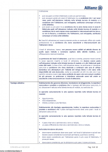 Allianz - Allianz1 Catastrofi Naturali - Modello dip-925 Edizione 01-01-2019 [28P]