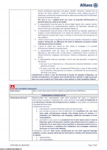 Allianz - Allianz1 Danni A Terzi - Modello dip-918 Edizione 01-01-2019 [24P]