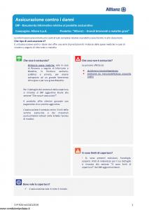 Allianz - Allianz1 Grandi Interventi E Malattie Gravi - Modello dip-926 Edizione 01-01-2019 [27P]