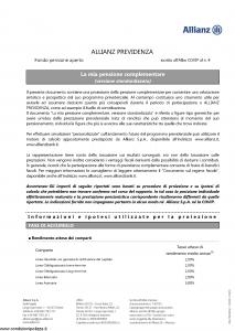 Allianz - Allianz Previdenza - Modello dga-180 Edizione 05-2017 [14P]