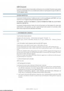 Allianz - Azb Orizzonti - Modello 8027 Edizione 01-2013 [65P]