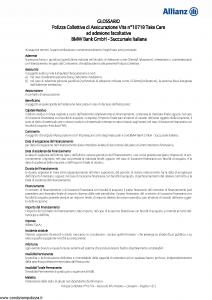 Allianz - Bmw 10719 Take Care - Modello ad180 Edizione 01-10-2015 [17P]