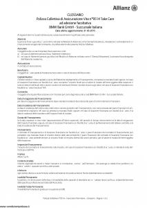 Allianz - Bmw 9514 Take Care - Modello ad180 Edizione 31-05-2015 [17P]