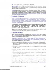 Allianz - Codice Anticorruzione Allianz - Modello 1.2 Edizione 21-11-2018 [10P]