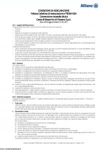 Allianz - Convenzione Incendio Mutui - Modello 50541024 Edizione 31-05-2011 [11P]