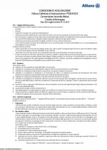 Allianz - Convenzione Incendio Mutui - Modello 50541033 Edizione 01-12-2010 [10P]
