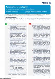 Allianz - Globale Professionisti Professioni Tecniche - Modello dip-612-02 Edizione 01-01-2019 [117P]