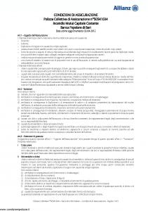 Allianz - Incendio Mutui Capitale Costante - Modello 50541034 Edizione 02-04-2012 [10P]