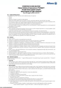 Allianz - Incendio Mutui Capitale Costante - Modello 62590977 Edizione 02-04-2012 [10P]