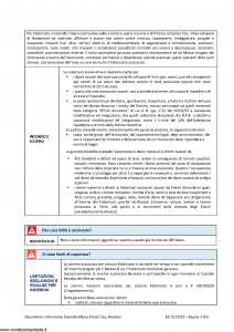 Allianz - Incendio Mutui Privati A Capitale Residuo - Modello 50541024 Edizione 01-01-2019 [21P]