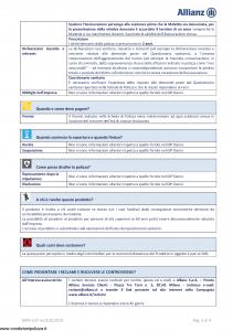 Allianz - Invalidita' Permanente Da Malattia - Modello dip-237 Edizione 01-01-2019 [19P]