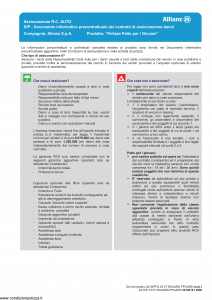Allianz - Polizza Patto Per I Giovani - Modello az-sippg-atvt-rcaard-ppgard-mod1 Edizione 01-01-2019 [67P]