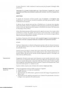 Allianz - Protegge A Capitale Decrescente - Modello 8013 Edizione 05-2016 [32P]
