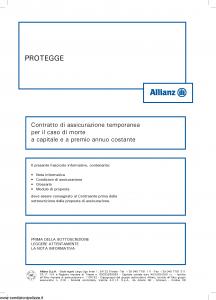 Allianz - Protegge - Modello 8012 Edizione 05-2013 [36P]