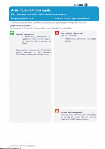 Allianz - Tutela Legale Committente - Modello dip-tumg-59044 Edizione 01-01-2019 [14P]