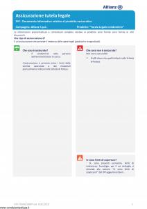 Allianz - Tutela Legale Condominio - Modello dip-tumg-59007 Edizione 01-01-2019 [18P]
