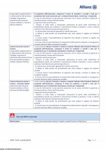 Allianz - Tutela Legale Linea Persona Fast - Modello dip-tu14 Edizione 01-01-2019 [22P]