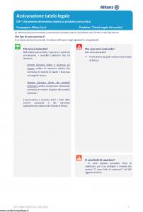 Allianz - Tutela Legale Parrocchia - Modello dip-tumg-59012 Edizione 01-01-2019 [18P]