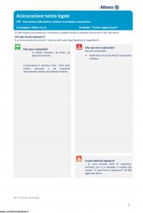 Allianz - Tutela Legale Scuola - Modello dip-tu05 Edizione 01-01-2019 [16P]