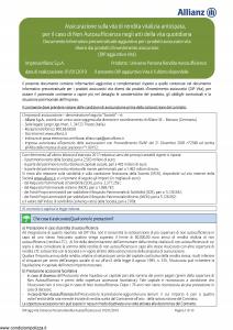 Allianz - Universo Persona Rendita Autosufficienza - Modello 39ce05 Edizione 01-01-2019 [54P]
