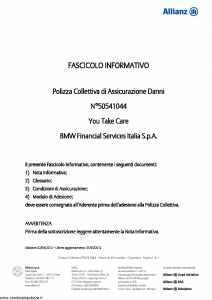 Allianz - You Take Care - Modello 50541044 Edizione 02-04-2012 [19P]