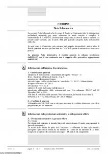 Allianz Ras - Cardine Per Il Futuro Di Chi Ami Tariffa 4A-Nf-04 - Modello 7304-nf Edizione 10-2006 [32P]