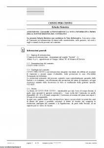 Allianz Ras - Cento Per Cento Coperti E Rimborsati Tariffa R11A-Tb - Modello 7331 Edizione 03-2008 [72P]