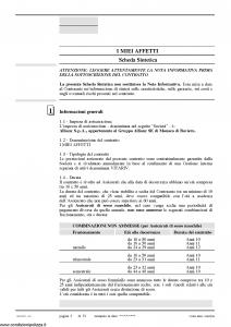 Allianz Ras - I Miei Affetti Il Salvadanaio Per La Protezione Della Famiglia Tariffa 20Ep01 - Modello 7360 Edizione 03-2010 [74P]