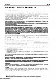 Amissima - Amis Lex - Modello 60016b Edizione 01-2019 [8P]