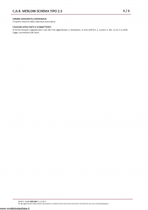 Amissima - Car Merloni Schema Tipo 2.3 - Modello 60005b Edizione 01-2019 [13P]
