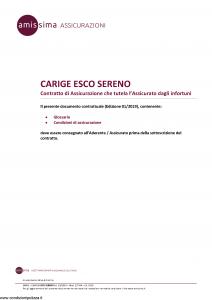 Amissima - Carige Esco Sereno - Modello 34801-227ba Edizione 01-2019 [9P]